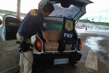 PRF apreende mais de R$ 30 mil em eletrônicos em Guaíra