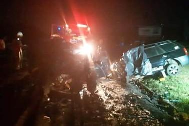Seis pessoas morrem em grave acidente na PR-323