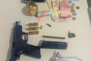 Casal é preso pela Polícia Militar na BR-272 por posse ilegal de arma