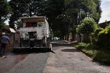 Finalizada etapa do programa de micropavimentação em Umuarama