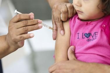 Saúde reforça convocação para vacinar crianças e gestantes contra influenza