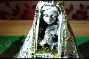 Imagem de Nossa Senhora Aparecida jorra mel em Corbélia