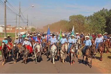 17ª Cavalgada Ecológica marca início dos festejos de aniversário de Cianorte
