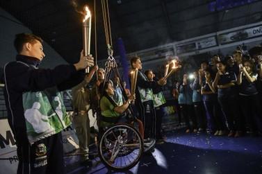 Abertura dos Jogos da Juventude festeja chegada de atletas e dirigentes