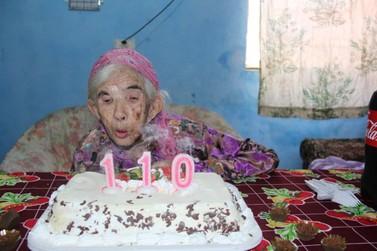 Com 110 anos, morre Maria Leonor de Abreu, a mulher mais idosa de Campo Mourão
