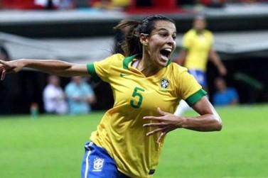 Real Madrid anuncia a contratação de Thaisa Moreno, da seleção brasileira