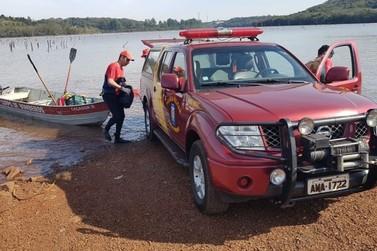 Bombeiros encontram corpo de homem que morreu afogado em Campo Mourão