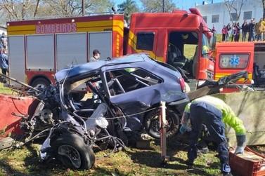 Cascavelense morre em acidente de carro durante prova de arrancada em SC
