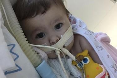 Família faz campanha para pagar tratamento de criança com doença genética rara