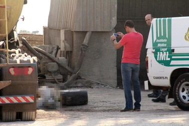Umuaramense é encontrado morto em fábrica de concretos em Cianorte