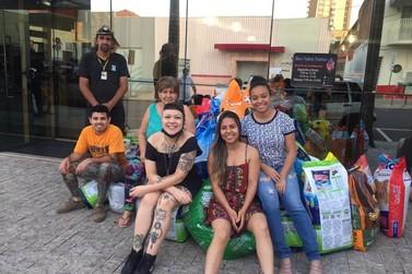 Flash Day: ação beneficente arrecada 810 kg de ração para a Saau
