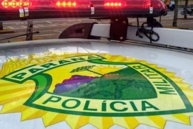 Após tentar fugir, motorista é preso pela PM com maconha em Umuarama