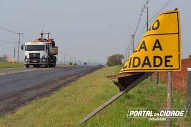 DER alerta para os perigos causados pelo vandalismo de placas em rodovias