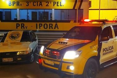 Homem é preso pela PRE transportando maconha na PR-323, em Iporã