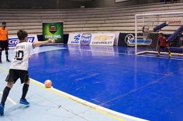 Partidas decisivas da Copa Smel de Futsal serão realizadas nesta quarta