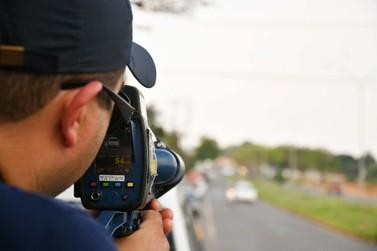Radar estático portátil começa a ser utilizado no trânsito de Umuarama