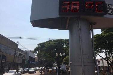 Última semana de inverno terá temperatura de quase 40°C em Umuarama