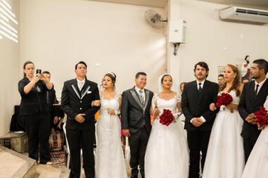 Voluntários promovem casamento comunitário para casais de Umuarama