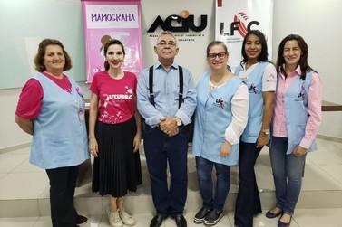 Associadas Aciu agendam exames de mamografia nesta terça e na quinta