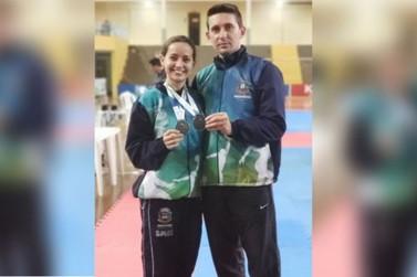 Atleta de Umuarama conquista duas medalhas de prata no JAP's