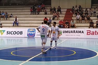Com vantagem, Umuarama busca semifinal do Campeonato Paranaense de Futsal