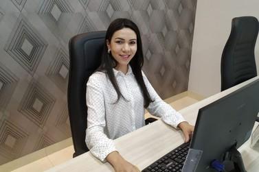 Ex-aluna da Unipar monta seu próprio escritório de contabilidade