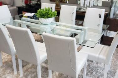 Móbile Decor anuncia promoção em mesas e cadeiras em até 12 vezes sem juros