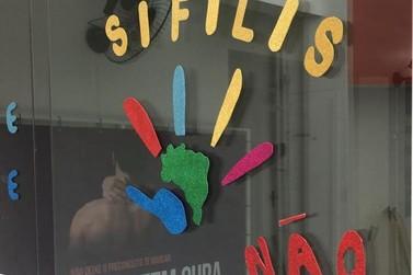 Saúde de Umuarama realiza ações alusivas ao Dia de Combate à Sífilis