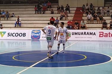 Umuarama enfrenta Marechal Rondon pelas quartas do Paranaense de Futsal