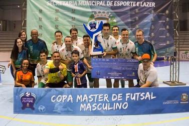 Clínica Veterinária Santa Clara é campeã da Copa Master 2019, em Umuarama
