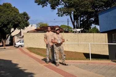 Secretaria de Saúde usa drone para ações de combate à dengue em Umuarama