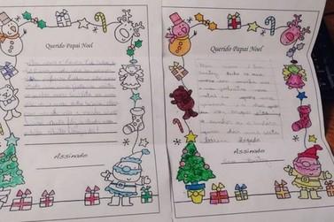 Vida e Solidariedade inicia projeto com cartas para arrecadar presentes de Natal