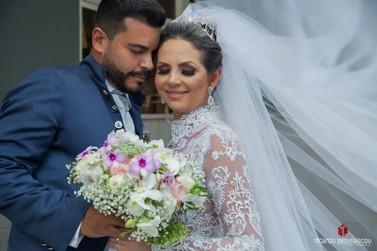 Casal de Umuarama que vendia trufas na internet ganha festa de casamento