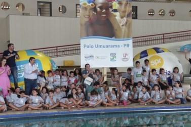 Umuarama é a mais nova cidade no Projeto Nadando na Frente