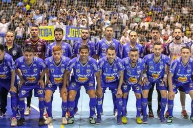 Umuarama Futsal vence em casa o Ampére e é campeão da Taça FPFS