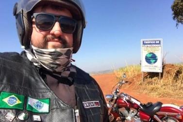 Após percorrer as 399 cidades do PR de moto, umuaramense traça novos desafios