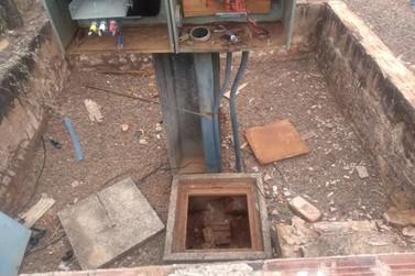 Furto de cabos em poço artesiano afeta abastecimento de água em Moreira Sales