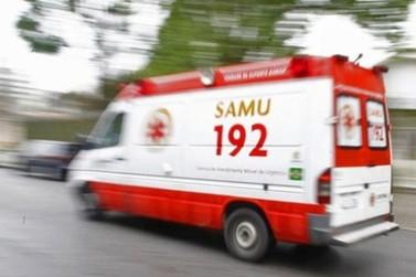Homem morre ao cair de carroça em Cianorte; estrutura virou e ficou sobre ele