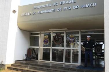 Inscrições para concurso da Marinha podem ser feitas em Foz do Iguaçu