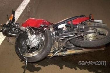 Motociclista morre em colisão frontal na BR-369, em Cascavel, nesta madrugada