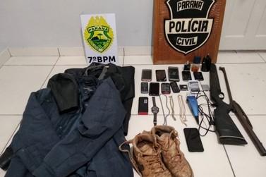 Operação 157 prende suspeitos de aterrorizar Cidade Gaúcha em onda de assaltos