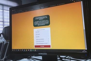 Site fraudulento simula cadastro de contratação para Atacadão em Umuarama