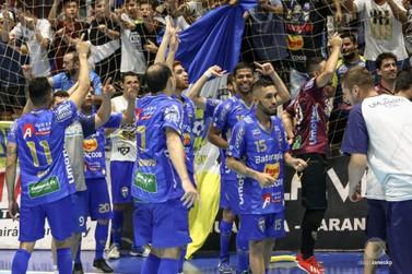 Umuarama Futsal retorna à Liga Nacional motivado e a fim de fazer história