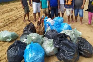 E a educação? Turistas deixam um rastro de sujeira nas prainhas de Porto Camargo
