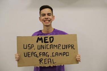 Jovem de 19 anos é aprovado em Medicina em 6 universidades, entre elas a USP