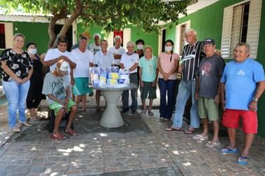 Casa do idoso de Cruzeiro do Oeste recebe materiais de prevenção ao coronavírus