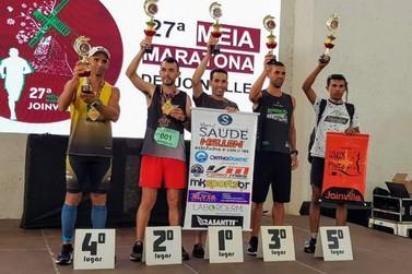 Maratonista de Umuarama conquista medalha em corrida em Santa Catarina