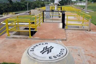 Umuarama tem 93% da população com coleta e tratamento de esgoto, diz Sanepar