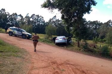 Após fugir da polícia em Umuarama, motorista é preso em Cruzeiro do Oeste