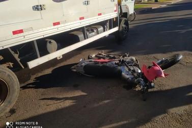 Motociclista é transferido em estado grave para Umuarama após acidente na região